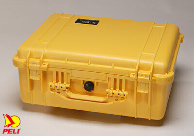 Peli 1550 Pelicase NO Foam Yellow  *NEW* RRP £259.15