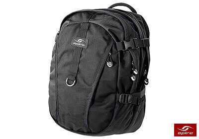 "Spire laptop backpack ""Fuse"", stealth black, no. FE6-BLK"