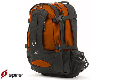 "Spire laptop backpack ""Torq"", burnt orange / black, no. TQ7-ORN"