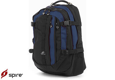 "Spire laptop backpack ""Volt XL"", midnight blue / black, no. VX6-MID"