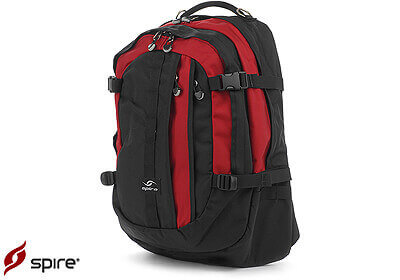 "Spire laptop backpack ""Volt XL"", red / black, no. VX6-RED"