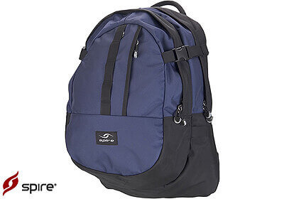 "Spire laptop backpack ""Zoom"", midnight blue / black, no. ZM6-MID"