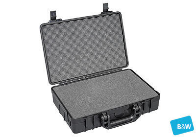 B&W outdoor.case, Type 30, black, foam insert, no. 1.3515/B/SI