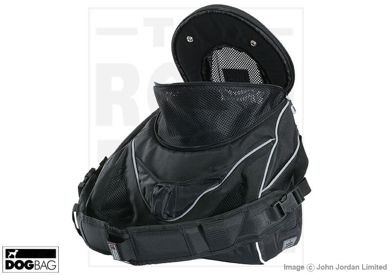 PetEgo EB Contour Messenger small pet carrier, Black Label, large no. ERCMBLL