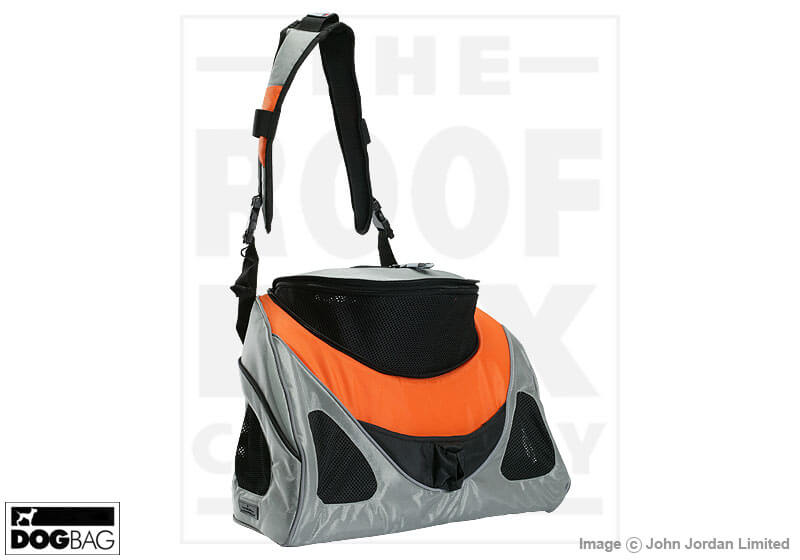 PetEgo EB Contour Messenger small pet carrier, orange/silver, large no. ERCML
