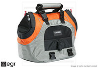:EB Universal Sports Bag Plus small pet carrier, orange and silver, no. USB PLUS