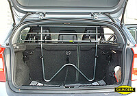 Fiat Punto five door (1999 to 2006):Saunders tubular steel dog guard no. VCST93 (T93)