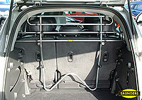 Renault Clio three door (2005 onwards) :Saunders tubular steel dog guard no. VCST941 (T941)