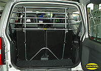 Daewoo Tacuma (2000 to 2004):Saunders tubular steel dog guard no. VCST95 (T95)
