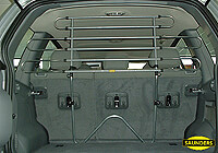 Mercedes Benz 200 estate (1985 to 1995) :Saunders tubular steel dog guard no. VCST96 (T96)