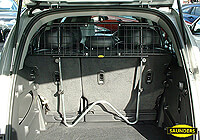 Vauxhall Monterey three door (1992 to 1996) :Saunders wire mesh dog guard no. VCSW96 (W96)