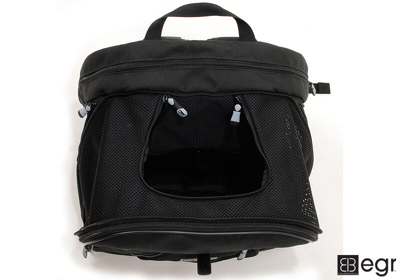 PetEgo EB Pet@Work small pet carrier, black, ERPETWBL