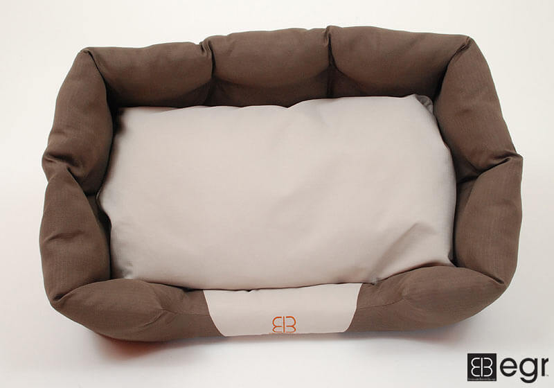 :EB 'Cappuccino Deep Bed' pet bed, medium, no. PIPO M