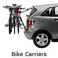 Subaru Impreza four door saloon (2003 to 2007) :Rear door bike carriers
