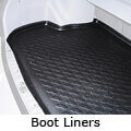 Mitsubishi Carisma four door saloon (1997 to 2003):Car Boot Liners
