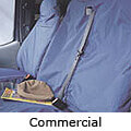 Opel Movano SWB low roof (1999 to 2010) :Seat covers, commercial