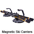 Mitsubishi Carisma four door saloon (1997 to 2003):Magnetic ski carriers