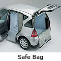 Honda Logo three door (1995 to 2005):Safe Bag