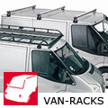 Toyota HiAce H2 (semi-high roof) (1983 to 1995) :Commercial roof bars and roof racks
