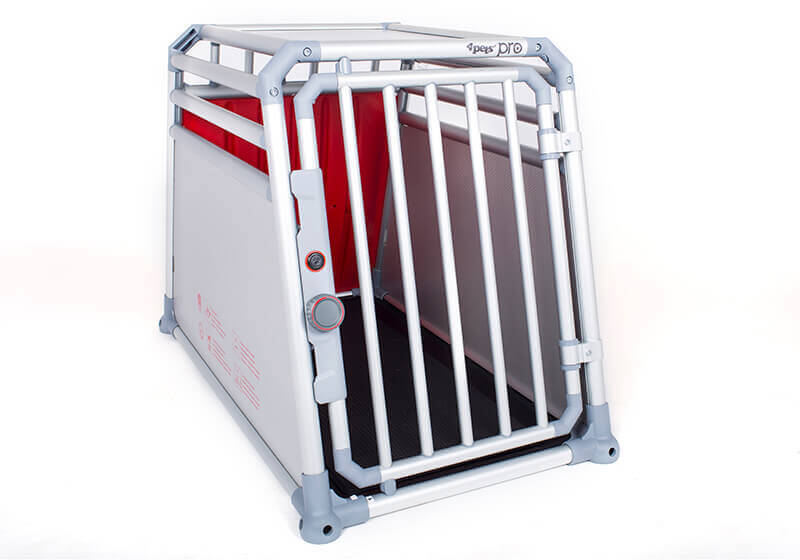 4pets PRO 2 TÜV crash tested dog cage