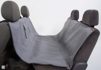 Fiat Brava five door (1996 to 2002):EB Animal Basics waterproof hammock, anthracite and grey, no. ABWPSCHM AN-GR