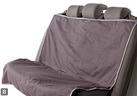 :EB Animal Basics waterproof rear seat cover, black and anthracite, no. ABWPSCRS BL-AN