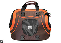 :EB Infinita bag, brown and orange, no. INFINITA BO