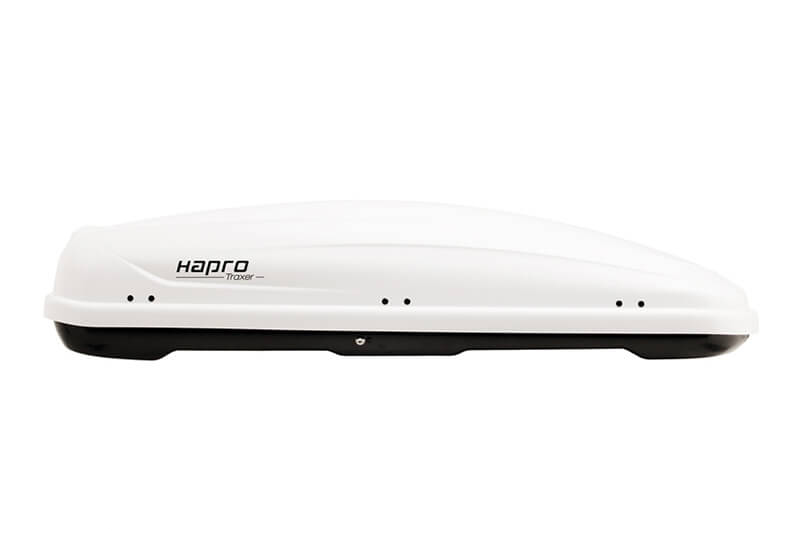 :Hapro Traxer 6.6 roof box, pure gloss white, no. 25912