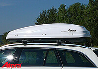 :Atera Certo 460 roof box, white edition - return no. 2267X