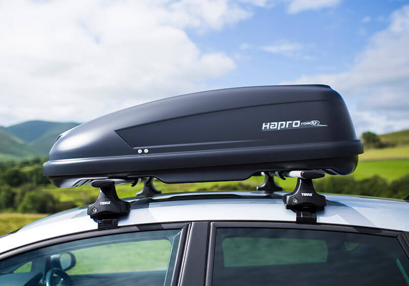 Package Deal Hapro Roady 3300 Rear Opening Black Box