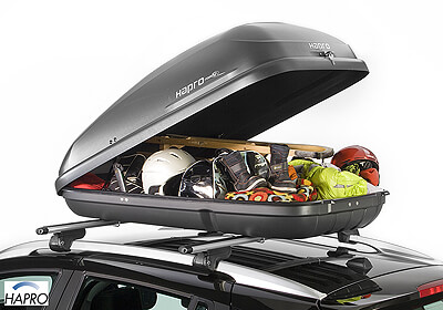 Hapro Roady 350 roof box anthracite black no. 23191.  sc 1 st  Roof : box roof - memphite.com