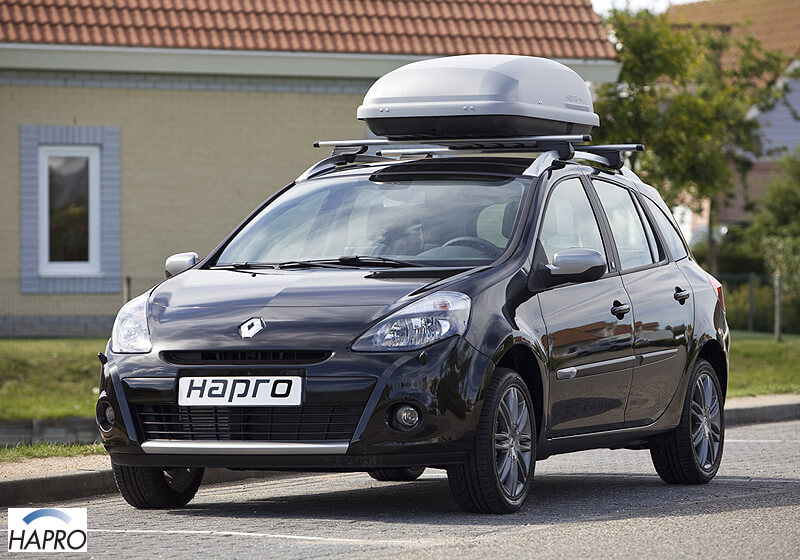 Hapro Roady 350 roof box, silver, no. HP350S