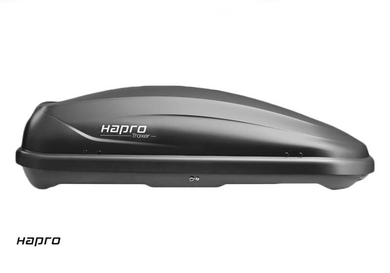 :Hapro Traxer 4.6 roof box, anthracite black, no. 38885 - return no. 717