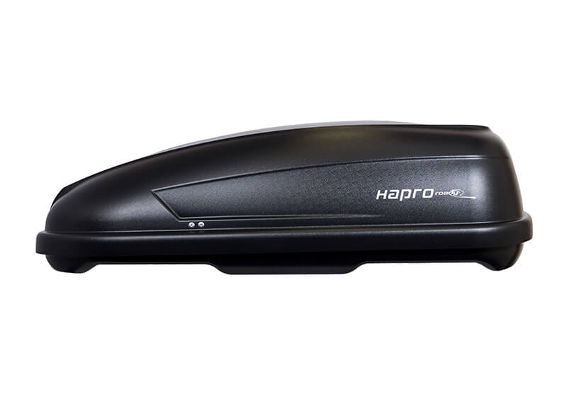 Hapro:Hapro Roady 3300 rear-opening box, anthracite black, 31555