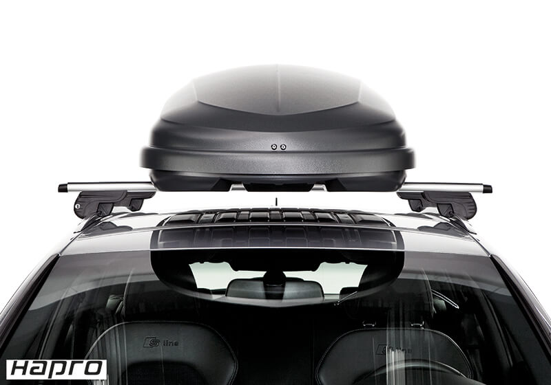 Hapro Traxer 6.6 roof box, black, no. 25908