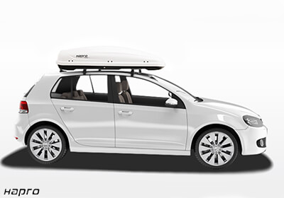 Hapro Traxer 6 6 Roof Box Pure Gloss White No 25912