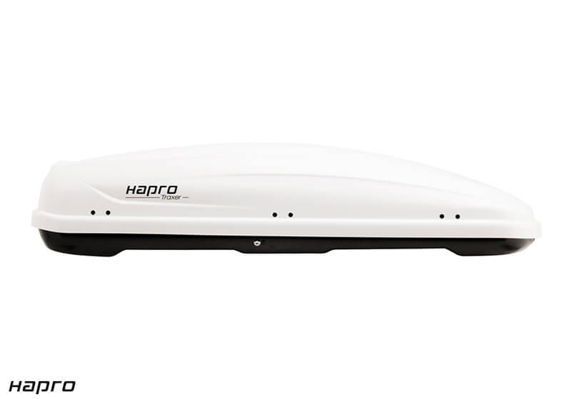:Package deal: Hapro 26185 Traxer 8.6 gloss white box and bars