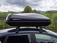 Hapro:Hapro Roady 422 (420 litre) roof box, black, no. HP422