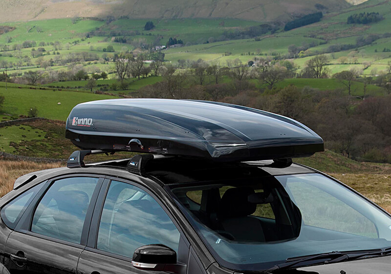 :INNO Shadow 16 roof box, black, no. INRS16B (BRA1250)