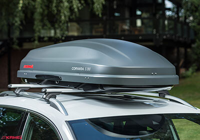 Kamei Corvara S 390 Carbon Grey Roof Box No Km536 0