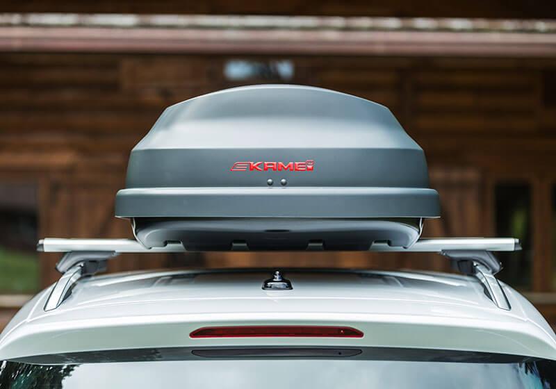 Kamei Corvara S 390 Carbon Grey Roof Box No Km536 0