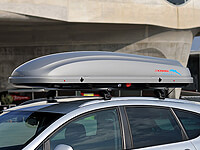 :KAMEI Delphin 470 roof box LEFT side opening no. KM361- return no. RE1154