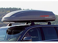 :KAMEI Corvara 475 silver DuoLift roof box no. KM416- return no. RE1134