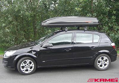 Long box on hatchback