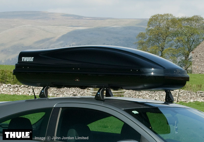 the roof box company thule atlantis 600 lt glossy black. Black Bedroom Furniture Sets. Home Design Ideas