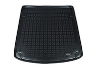 Audi A4 four door saloon (2001 to 2005) :Rezaw-Plast boot liner, black, no. RZ232005