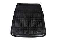 BMW 5 series four door saloon (2004 to 2010) :Rezaw-Plast boot liner, black, no. RZ232105