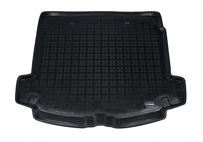A high quality thermoplastic elastomer car boot liner with a 3.5cm rim around the edge