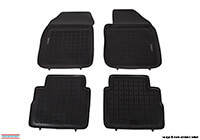 Vauxhall Astravan (1998 to 2006) :Rezaw-Plast floor mats (set of 4), black, no. RZ240505