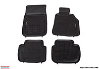 Nissan X-trail (2001 to 2007) :Rezaw-Plast floor mats (set of 4), black, no. RZ241811